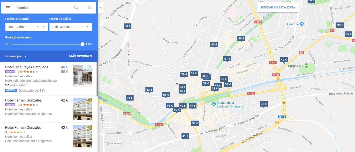 Busqueda Local Maps
