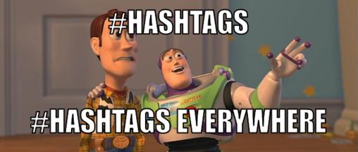 utilizar hashtags para crecer en instagram