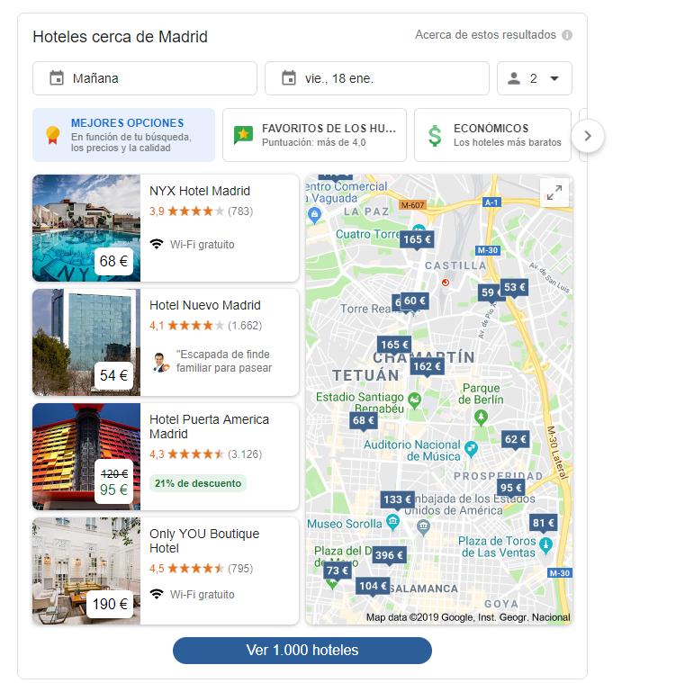 Qué es Google Hotel Ads