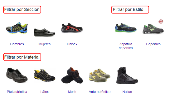 Google Shopping Filters