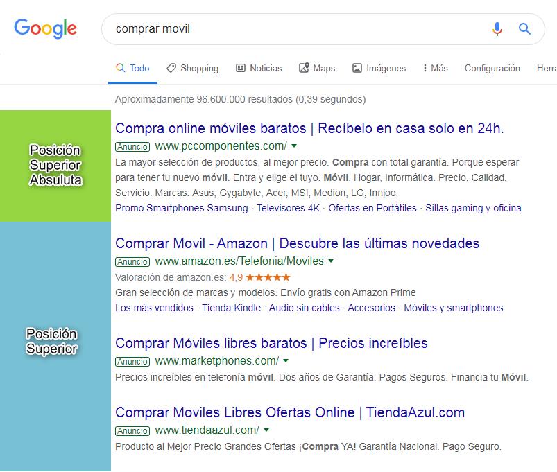 Búsqueda genérica Google