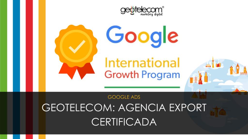 Agencia Export certificada